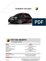 Ficha Tecnica & Equipamientos FIAT 500 ABARTH 595 160cv_01-2014_Anexo ...
