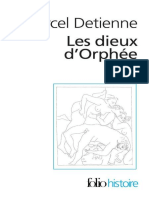 Detienne - Les Dieux d'Orphee