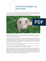 La Producción Porcina Ecológica