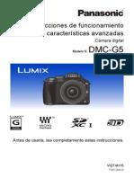 Guide Spañol lumix g5