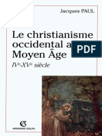 Paul - Le Christianisme Occidental Au Moyen-âge