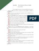 Physics Advising Faq