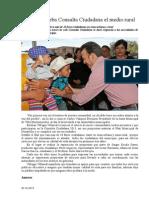 30.10.2013 Comunicado Lleva Esteba Consulta Ciudadana El Medio Rural