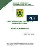 Manual de DDHH de Carabineros