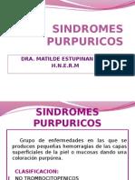 sindromes purpuricos