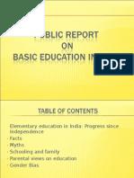 Ppt on Probe Report (Statistics)