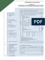Formulir Pendataan Ulang Pegawai Negeri Sipil 2015