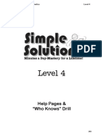 level 4 help pages