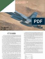 (Fly Model 118) (A3) FA-18 Hornet