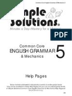 grammar help grade 5