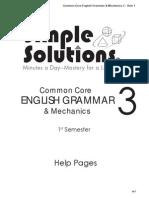 grammar help grade 3