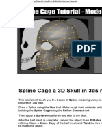 3DS MAX Spline Cage Tutorial