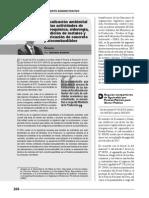 Fiscalización ambiental de las actividades de petroquímica, siderurgia, fundición de metales y fabricación de concreto y biocombustibles