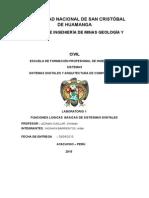 Informe1 de Arquitectura de computadoras