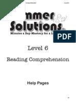 sum reading 6 help
