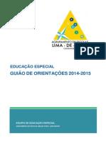 Guiao Orientacoes Educacao Especial Aelf 2014-2015