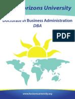 Brochure DBA1