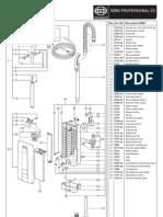 SEBO Professional G2 Vacuum Cleaner Parts List