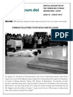 official newsletter of verbum dei luzon  no 16