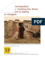Canada's Immigration Reputation Charting the Tories' Commitment to Taking inRefugees