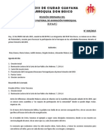 ACTA N° 019-15 Revision Cronograma Diocesano 97d49ce82eb