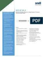 Snell ICE LE Tech Data Sheet