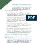 Información de La Declaración Informativa de Operaciones Mayores a Cien Mil Pesos