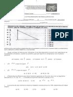 Extraordinario Tercero Secundaria 2015 Matematicas