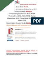 [FREE] Braindump2go 70-411 PDF Dumps 31-40