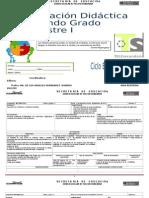 PLANEACIÓN  DE MATEMÁTICAS SEGUNDO GRADO .docx