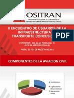 Aeropuertos - II ENCUENTRO DE USUARIOS DE LA INFRAESTRUCTURA