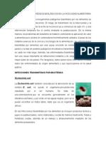 Afectaciones de Riesgos Biológicos en La Inocuidad Alimentaria