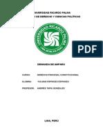 MODELO DE DEMANDA DE AMPARO