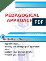 5 Pedagogical Approaches