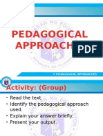5 Pedagogical Approaches