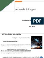 Processos de Soldagem - Aula 02