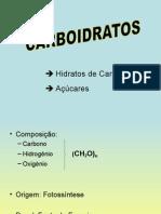 BROMATO - Aula 5 - Carboidratos