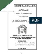 Proyecto de Invest Allincapac 2007