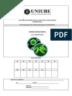 Apostila de Microbiologia Odonto 1o 2014