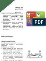 NCh 436 Prevencion de Accidentes Del Trabajo