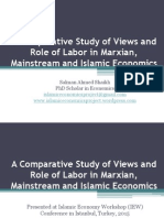 A Comparative Study of Views and Role of Labor