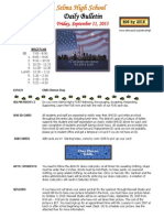 SHS Daily Bulletin 9-11-15