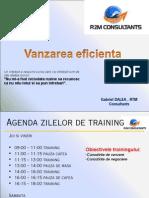 Training Vanzari