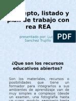 Concepto, listado y plan de trabajo con REA.ppt
