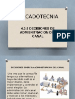 Administracion Del Canal
