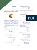 Teoria Electromagnetica Ejercicio 1 con Solucion