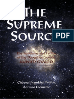 [Ch Gyal Namkhai Norbu the Supreme Source the F Bo