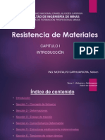 Capitulo i - Resistencia de Materiales