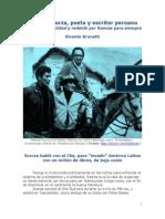 Manuel Scorza, escritor peruano que soñó la realidad y redobló por Rancas para siempre - Vicente Brunetti