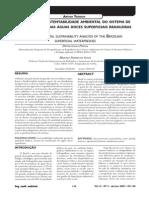 Artigo 22 - Análise Da Sustentabilidade Ambiental Do Sistema de Classificação de Águas Doces